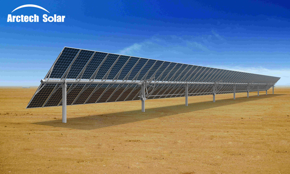 Arctech Launches 120-Module 2P Solar Tracker in Industry