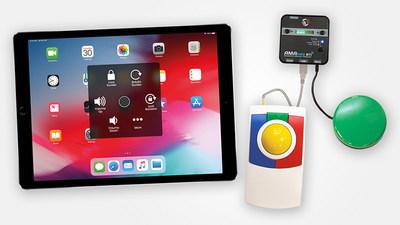 Inclusive Technology推出全球首款针对iPad/iPhone的鼠标适配器AMAneo BTi