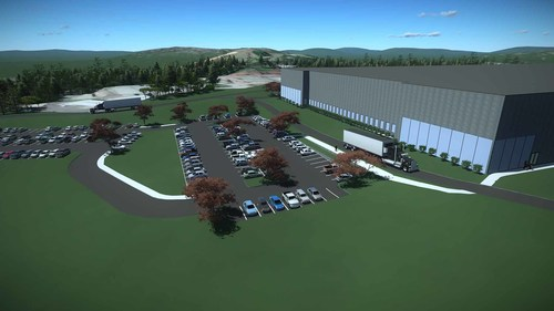 With OpenSite Designer, users can create intelligent 3D models for civil site projects complete with site information, terrain data, parking lots, building pads, driveways, sidewalk, parcel layout and related site features.