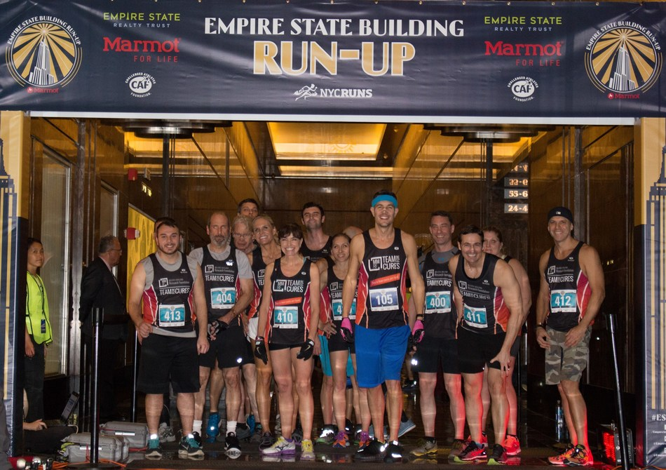 The Multiple Myeloma Research Foundation's 2018 Empire State Building Run-Up team. This year, MMRF will host a team of 25 runners, including four patients, to compete in the annual event. (Contributed photo)