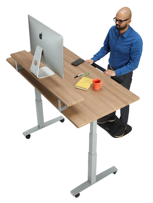 SmartMoves Adjustable Height Desks with FREE Shipping and 30 Day Free Trial