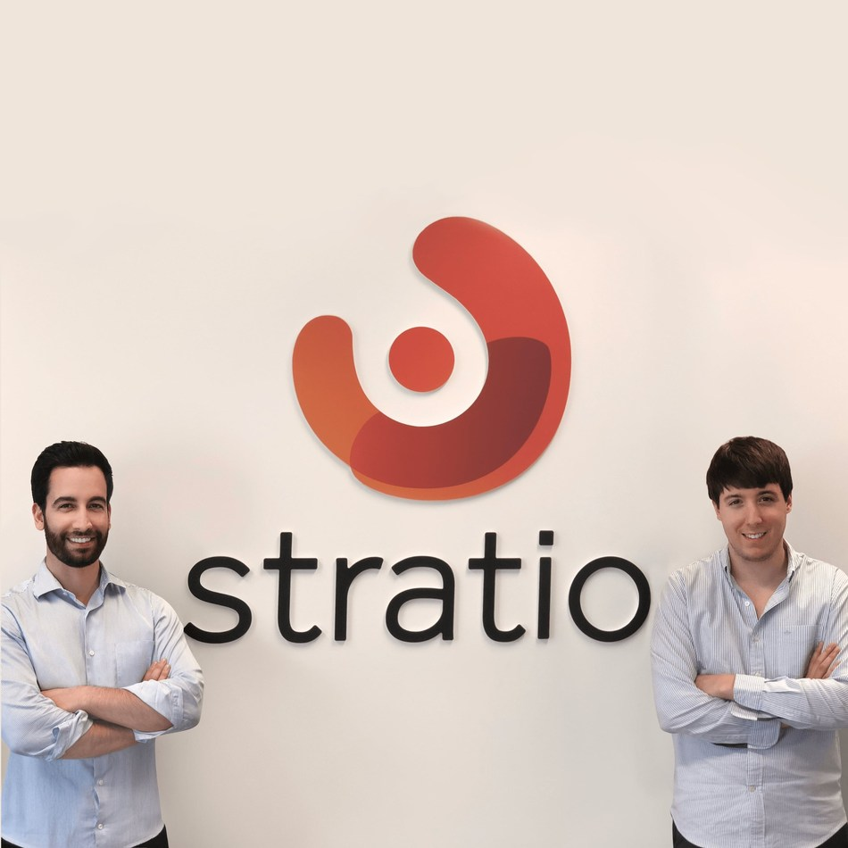 Stratio founders Rui Sales and Ricardo Margalho (PRNewsfoto/Stratio)