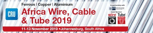 Africa Wire, Cable and Tube 2019 (PRNewsfoto/CRU)