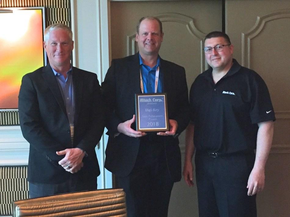 Altech Presents Digi-Key with 2018 Sales Achievement Award