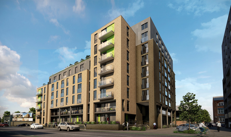 Middlewood Plaza, Manchester. An exciting new investment opportunity offered by Holborn Assets in the heart of Middlewood Locks regeneration zone, 10 mins from the city centre. Stylish urban living in the heart of Manchester.