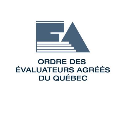 Logo :  Ordre des évaluateurs agréés du Québec (Groupe CNW/Ordre des évaluateurs agréés du Québec)