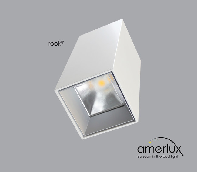 "Amerlux's new Rook 3.5"" Square Pendant will showcase the 100 CRI chip, which is the first LED to achieve a 100 CRI rating that renders color (warm or cool tones) to their most natural. As a result, natural color and skin tones have never looked so good. Amerlux will showcase the new square lighting solution at LightFair 2019 (Booth #5837). Demonstrations will be held during the conference across the street at Le Meridien Philadelphia, located at 1421 Arch Street."