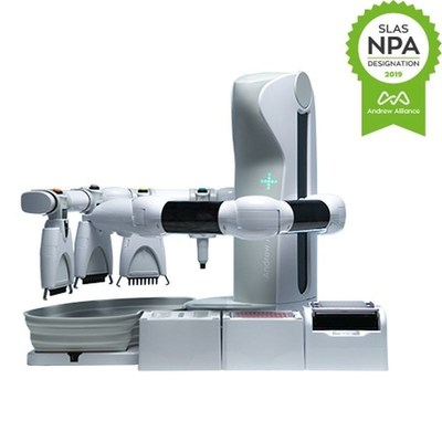 The liquid handling robot that uses conventional pipettes-Andrew Alliance