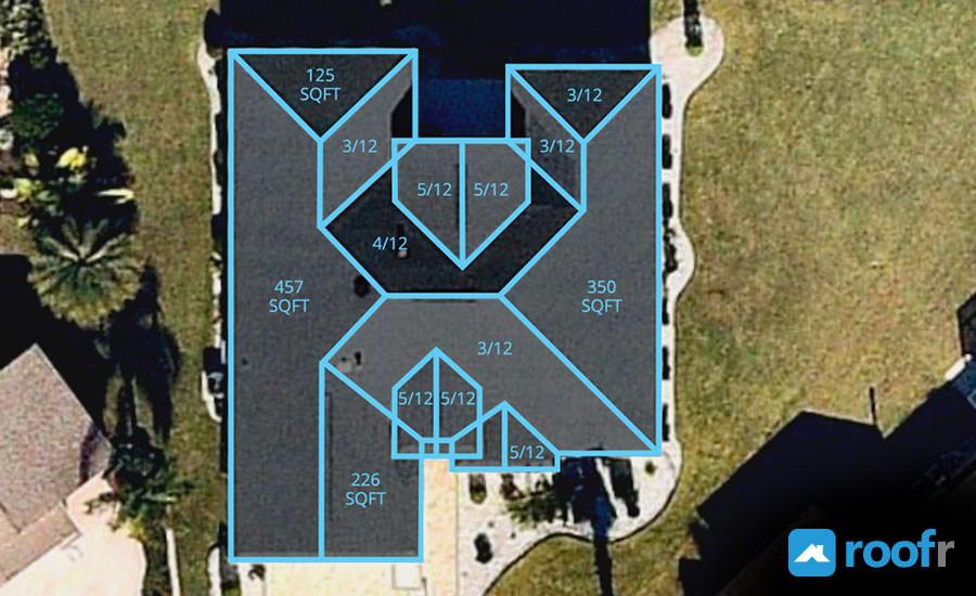 Roofr Releases Free Satellite Roof Measurement Tool