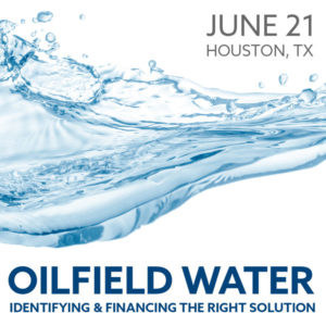 Join us on June 21 in Houston to discuss oilfield water business trends
