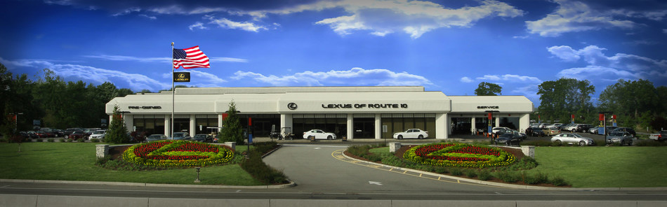 Lexus of Route 10 is located at 130 Route 10 West in Whippany, New Jersey