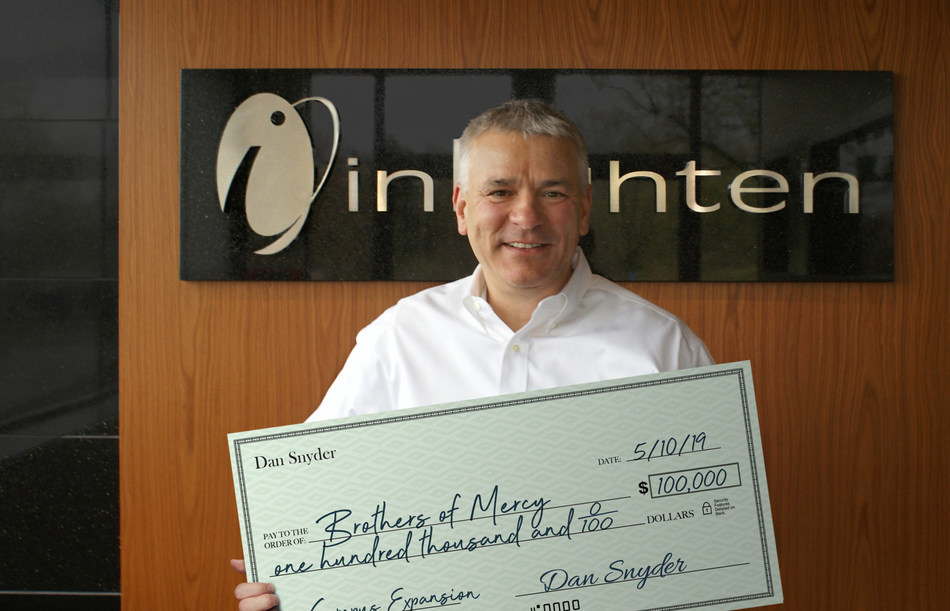 inLighten CEO Dan Snyder Donates $100,000 for Brothers of Mercy Campus Expansion
