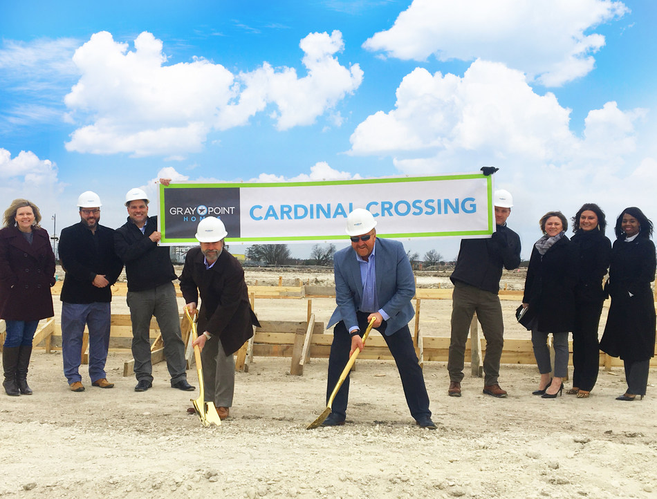 Gray Point Homes Brings Townhomes to Pflugerville, Texas