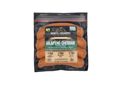 Jalapeno Cheddar Sausage from North Country Smokehouse