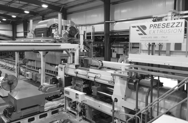 The press will allow Alexandria Industries to increase its aluminum extrusion capabilities.