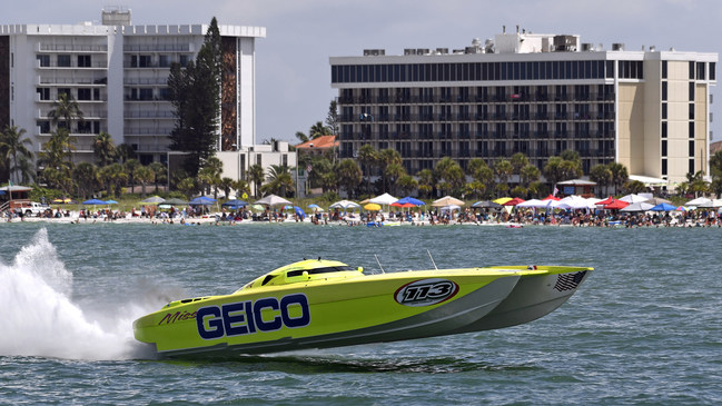 (PRNewsfoto/Miss GEICO Offshore Racing)