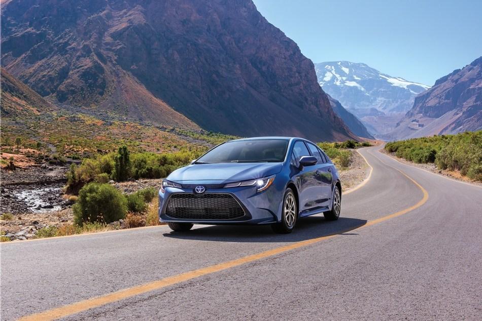 Toyota Corolla hybride 2020 (Groupe CNW/Toyota Canada Inc.)