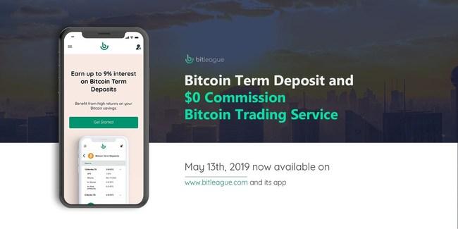 Bitleague Bitcoin Term Deposit is open for application globally