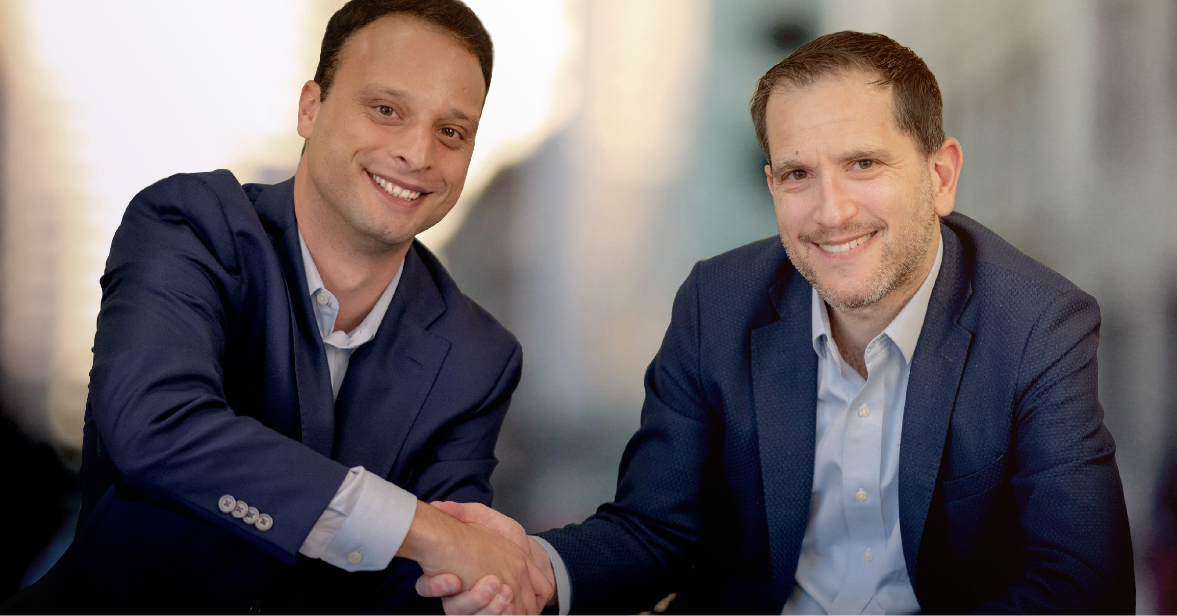 Periscope Data CEO and Co-Founder Harry Glaser (left) and Sisense CEO Amir Orad (right).