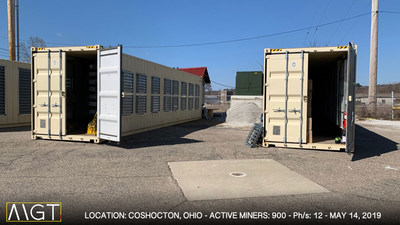 MGT Capital's Coshocton, OH Bitcoin Mine