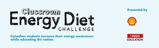 Logo: Classroom Energy Diet Challenge (CNW Group/Royal Canadian Geographical Society)