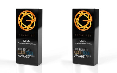 Qkids Named as Finalist in Two Categories at the 2019 EdTech Awards