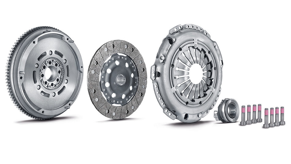 The Automotive Aftermarket division of Schaeffler has significantly expanded its product portfolio for clutch repair of Asian vehicles. Numerous repair solutions, like the LuK RepSet DMF seen here, are now available for current Asian passenger car models like the Toyota Avensis, the Mazda CX-5 and the Nissan Qashqai.