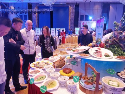 Xi'an Food Shines at 2019 Chinese Artisan Food Festival in Xi'an, Shannxi, China