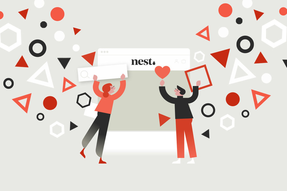 Say hello to our brand new look at nest