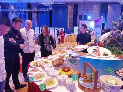 Xi'an voit sa nourriture rayonner au Festival de l'artisanat alimentaire chinois 2019, à Xi'an, Shannxi, en Chine