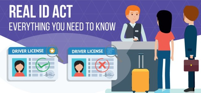 The REAL ID Act affects all travelers and it's very important to make sure that your ID is compliant before October 1st, 2020.