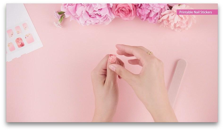 Canon Printable Nail Stickers