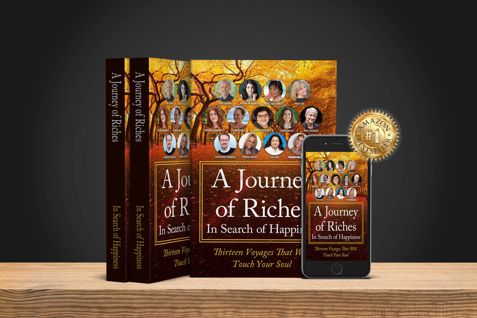 """John Spender has collaborated with other talented authors to examine the concept of happiness documenting their findings in a bestselling, inspiring and uplifting book titled """"A Journey of Riches: In Search of Happiness."""""""