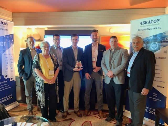 Abracon Presents Digi-Key with the 2018 Largest Sales Growth and Largest Annual Sales Award
