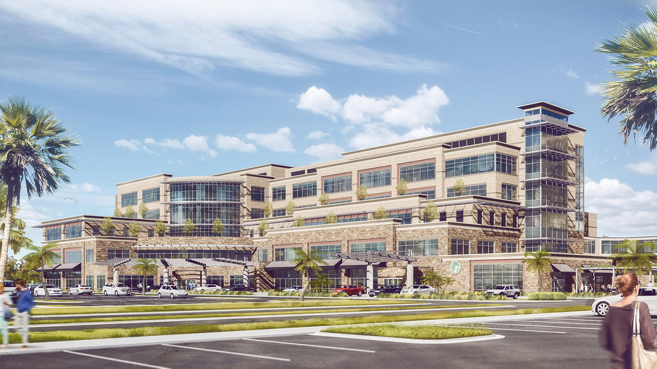 Rendering of The Center for Advanced Healthcare at Brownwood, The Villages, Florida