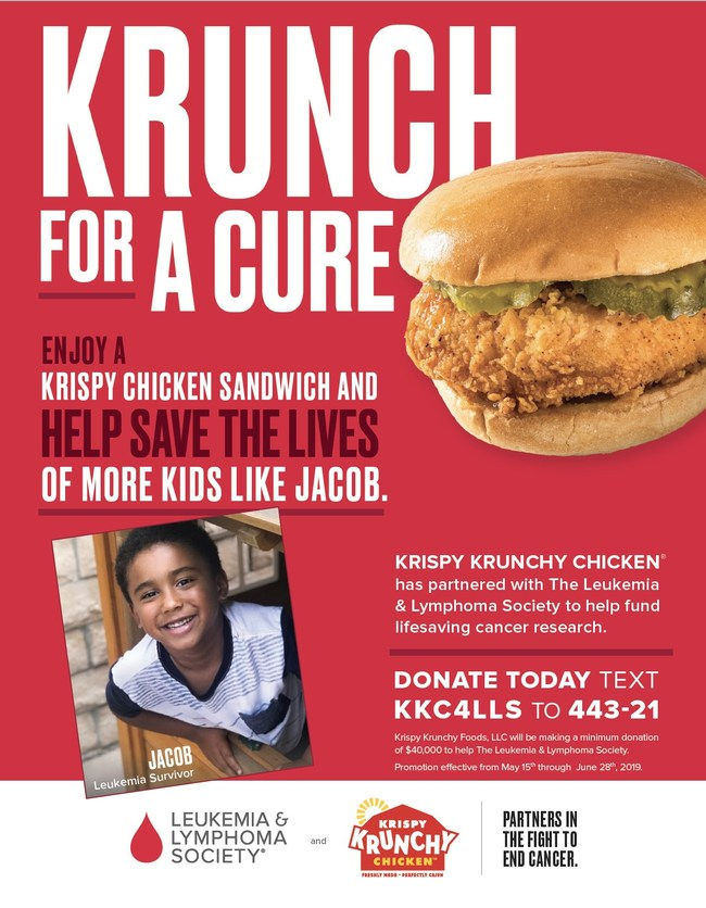 Krunch for a Cure Graphic for Participating Locations.