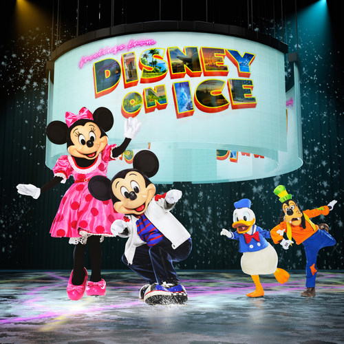 Mickey, Minnie and pals hit the road for a high octane ride in Disney On Ice presents Road Trip Adventures, coming to arenas across the country starting September 6, 2019.