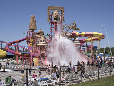 Museum of Wisconsin Art (MOWA), Among the Wonders of the Dells: Photography, Place, Tourism | On View: June 1–September 8, 2019 | Opening Party: Saturday, June 1 at 2-5 p.m. | Image credit: Mark Brautigam, Water Park, Archival pigment print, 2018, wisconsinart.org/dells | Supported by Travel Wisconsin