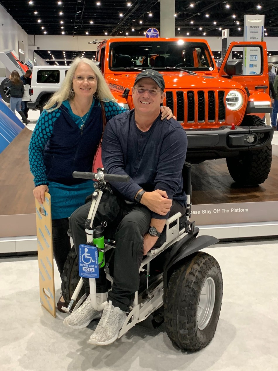 """The Jeep® brand announced Steven Scott from Poway, Calif., as the winner of its """"Find Your Freedom"""" social contest, which launched as part of the brand's #4X4DAY celebration."""