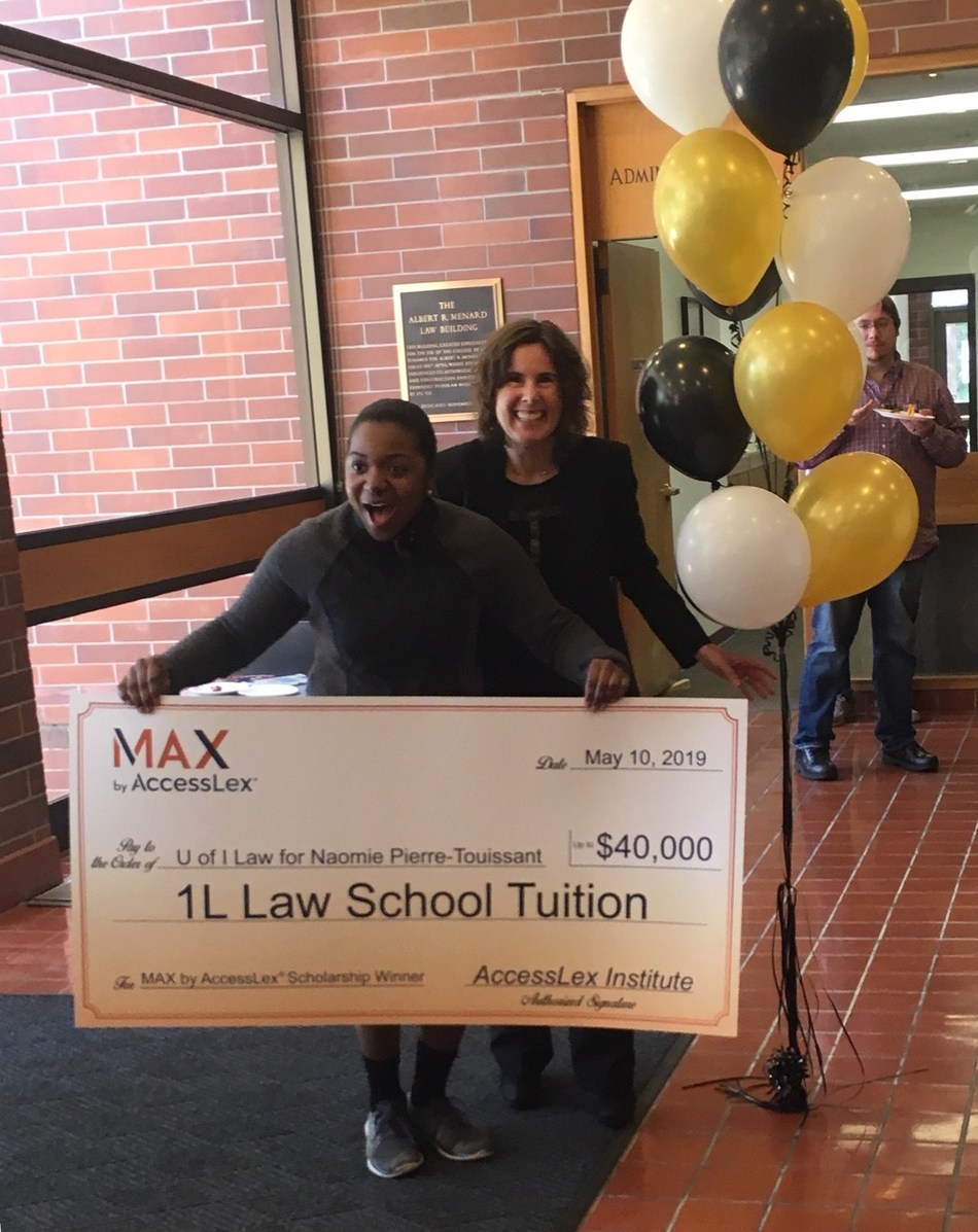 AccessLex Institute surprises Naomie Pierre-Touissant with tuition for her 1L year of law school