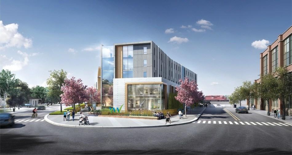 YW Hub facility in Inglewood. (CNW Group/YWCA Calgary)