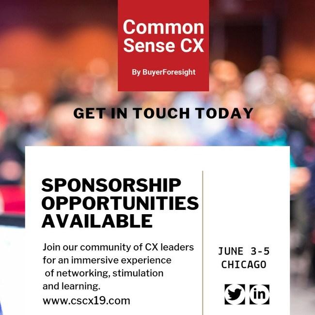 Common Sense CX by BuyerForesight