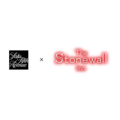 Saks x Stonewall Logo