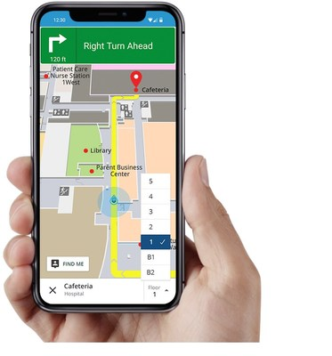 Gozio Health's mobile wayfinding platform helps patients arrive to their medical appointments on time and with less stress.