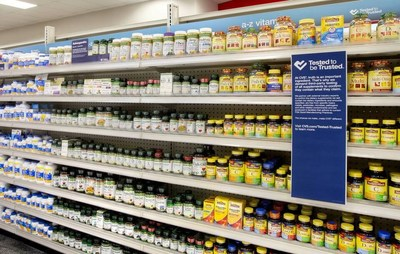 CVS Pharmacy Launches   Tested to Be Trusted   Program for Vitamins and Supplements