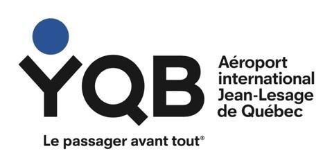 Logo : Aéroport International Jean-Lesage de Québec (Groupe CNW/Services alimentaires A&W du Canada Inc.)