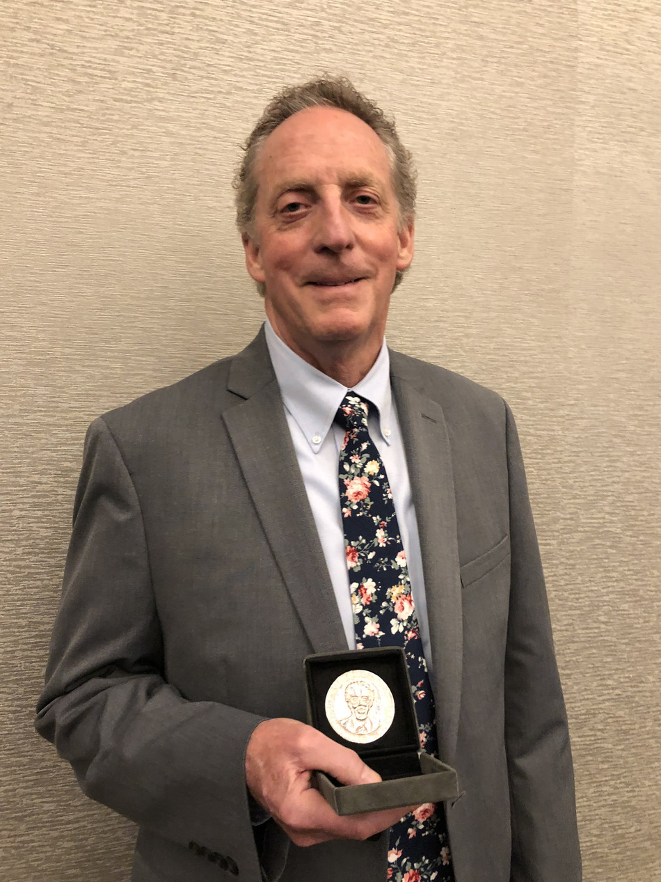 "Milton L. Lee, Ph.D. received the prestigious 2019 Giorgio Nota Medal from the Italian Chemical Society yesterday afternoon during the 43rd annual International Symposium on Capillary Chromatography (ISCC), held this year in Fort Worth, Texas. Recipients of the Medal are recognized for significant achievement in capillary liquid chromatography. In connection with the Medal presentation, Dr. Lee also presented a lecture titled ""Portable Capillary Liquid Chromatography"" after the Medal ceremony."