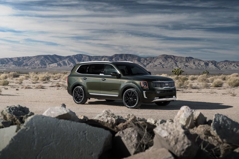 All-new Kia Telluride wins SUV category at inaugural Texas Off-Road Invitational