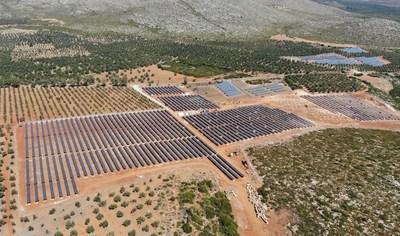 NEXTracker on connected 3 MW site of Tsilia, Municipality of Geraki, Lakonia Prefecture. Customer: Biosar. 2018