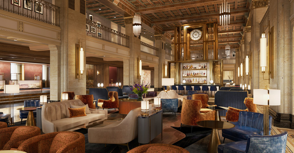 Rendering of CLOCKWORK Champagne & Cocktails (CNW Group/Fairmont Royal York)